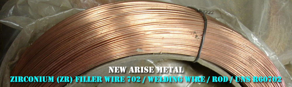 Zirconium (Zr) Filler Wire 702 / welding wire / rod / uns r60702